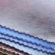 Artificial Leather Swatches — Stock Photo