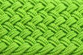緑の織り布のテクスチャ — ストック写真