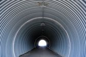 Tunnel with Light at the End — Stock Photo