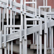Stair Railing (Handrail) - Stock Photo
