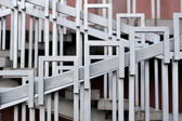 Stair Railing (Handrail) — Stock Photo