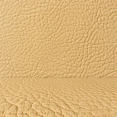 Beige Leather Room Background — Stock Photo
