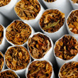 Stock Photo: Cigarettes Close-Up