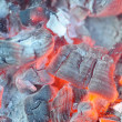 Stock Photo: Glowing Hot Embers
