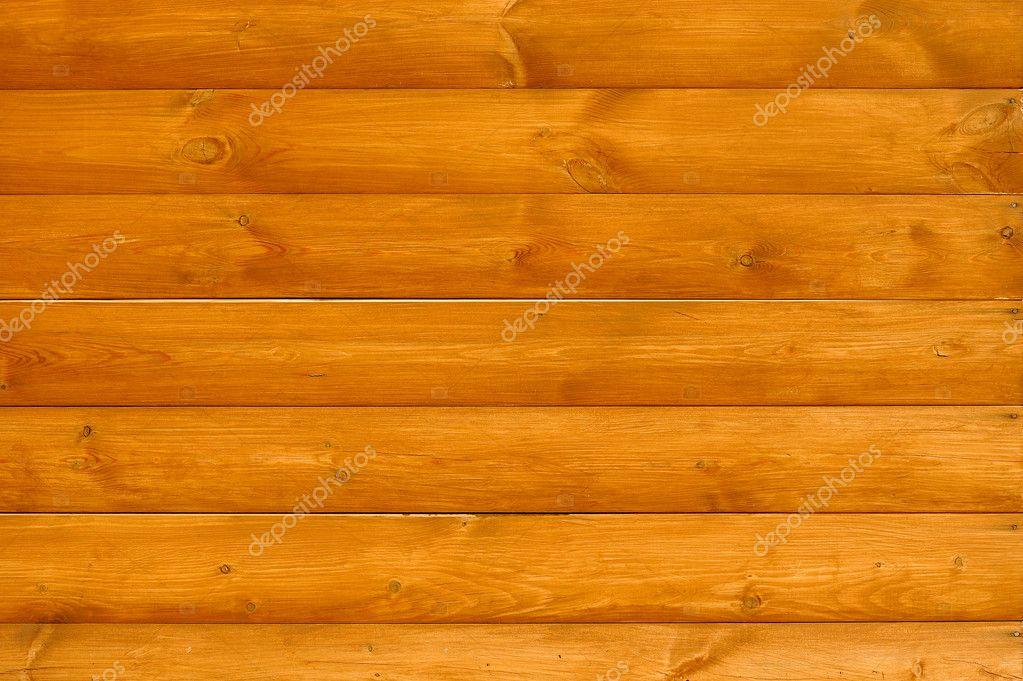 Horizontal wood planks background — stock photo