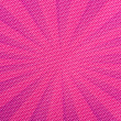 Stock Photo: Purple Rays on Pink Fabric Texture