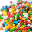 Multicolored Sugar Sprinkles (Edible Cupcake Decorations) Close-Up — Stock Photo