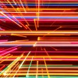 Abstract High Tech Glowing Lines Background — Stock Photo