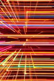 Abstract High Tech Glowing Lines Background — Stockfoto