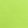Stock Photo: Light Green Perforated Artificial Leather Background Texture