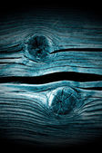 Dark Knotted Wood Planks Close-Up — Stock Photo