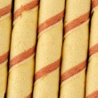 Striped Wafer Rolls — Stock Photo #39596929