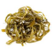Laminaria (Kelp) Seaweed Isolated on White Background — Stock Photo