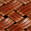 Foto Stock: Braided Leather Texture