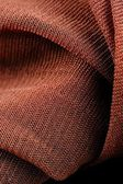 Brown Synthetic Fabric Texture Close-Up — Stock Photo