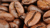 Coffee Beans Close-Up (16:9 Aspect Ratio) — Stock Photo