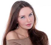 快乐的年轻女人 — 图库照片
