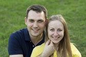 Happy couple — Photo