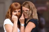 Dvě mladé ženy — Stock fotografie