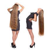 Bei capelli biondi — Foto Stock