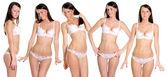 Modele seksowną bieliznę — Zdjęcie stockowe