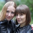 Two young women — Stock Photo #23050590