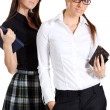 Two young business women — Stock Photo #24012133