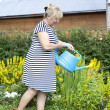 Mature woman in the garden — ストック写真 #28514829