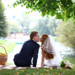 Wedding Kiss — Stock Photo #30633271