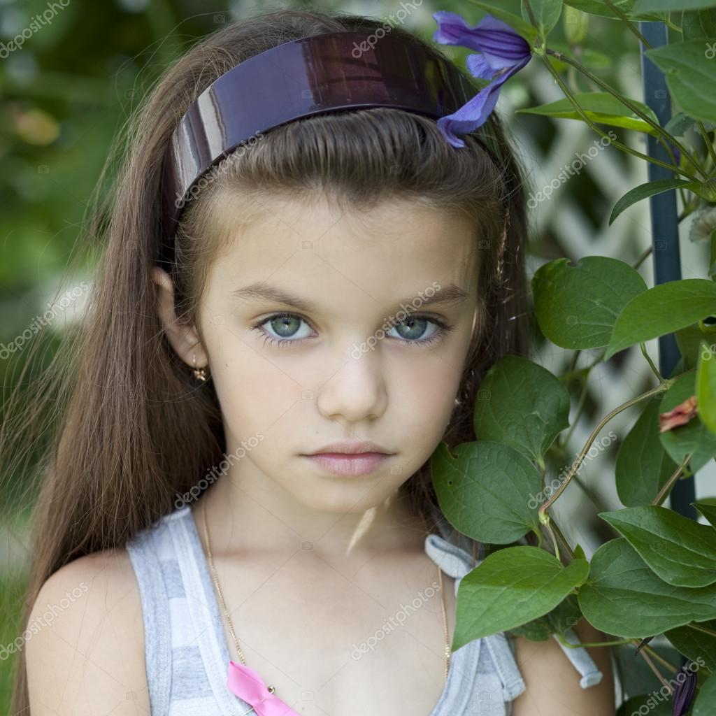 Beautiful Little Girl Bedrooms: Portrait Of Beautiful Little Girl