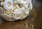 Bouquet for the bride on her special day — Foto de Stock