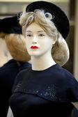 Portrait of female mannequin — Stock Photo
