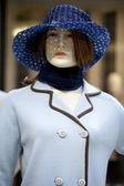 Portret żeński manekin — Zdjęcie stockowe