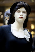 портрет женский манекен — Стоковое фото