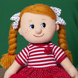 Red haired baby doll — Stock Photo #39099069