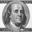 Portrait of Benjamin Franklin — Foto Stock #39099235