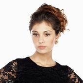 Retrato de mujer hermosa — Foto de Stock