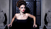 Retrato de glamour da mulher sexy — Foto Stock