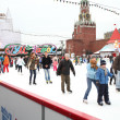 People skating on the Red Square  — Stock Photo #41643397