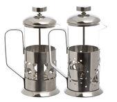 Two Empty glass teapot  — Stok fotoğraf