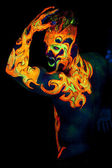 Element Fire — Stock Photo