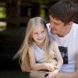Happy father with their cute little girl — Stock Photo #47263191