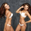 Two Sexy underwear models — Stock Photo #48630843