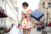 Shopping street — Stockfoto