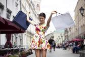 Shopping street — Zdjęcie stockowe