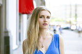 Young blonde woman  — Stock Photo
