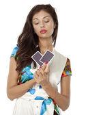 Poker face — Stock Photo
