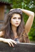 Giovane bella donna — Foto Stock