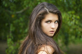 Jovem mulher bonita — Foto Stock