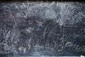 Dirty blackboard — Stock Photo